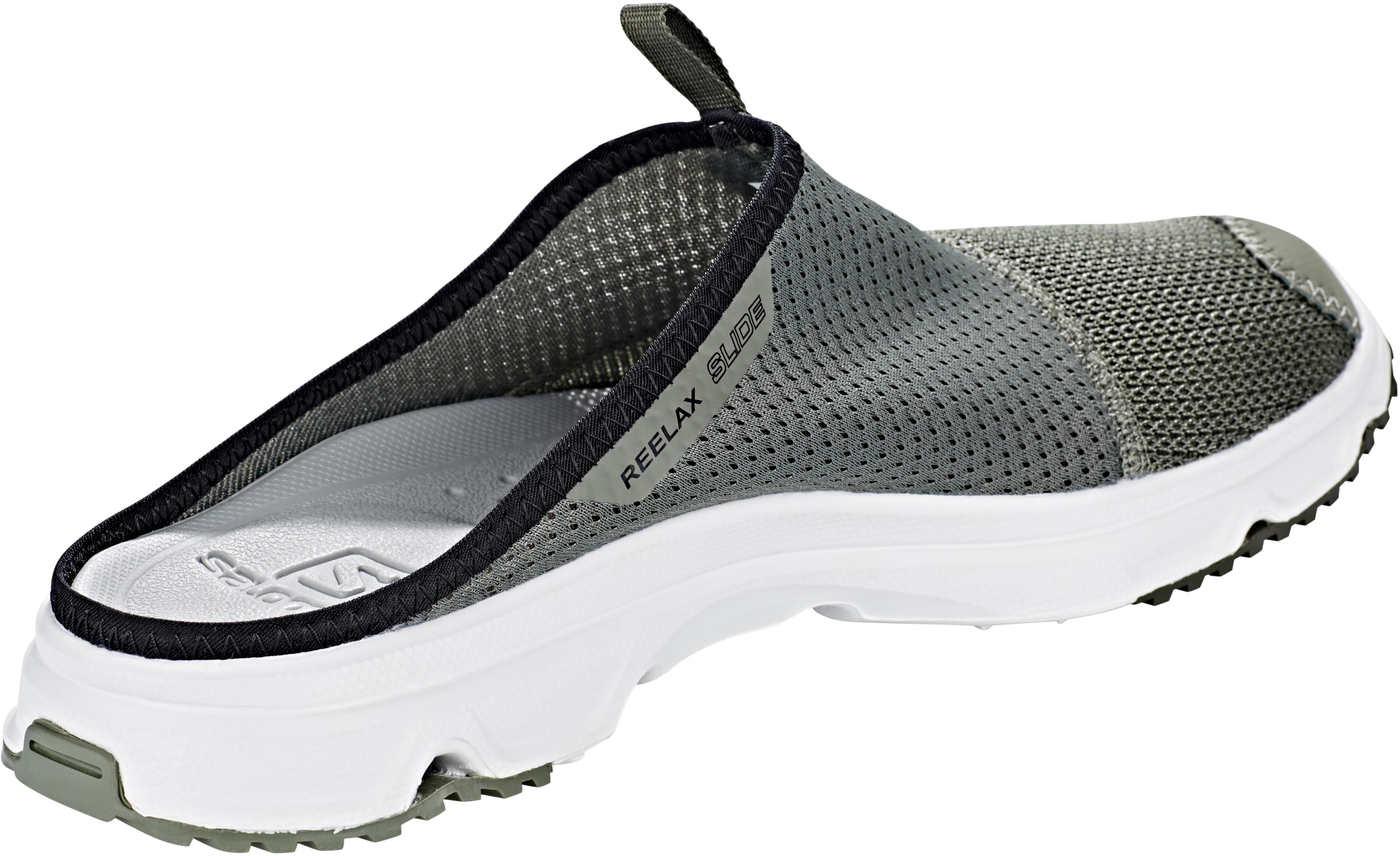 f96f15a9d6f Salomon RX Slide 4.0 - Chaussures running Homme - gris sur CAMPZ !